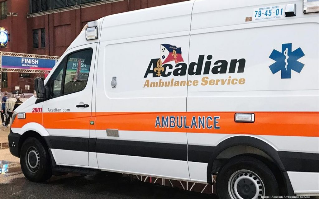 Acadian Ambulance Transport Request System 1