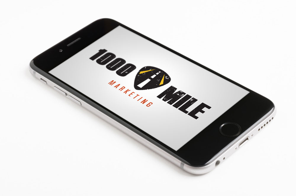 Thousand Mile Marketing Logo Design