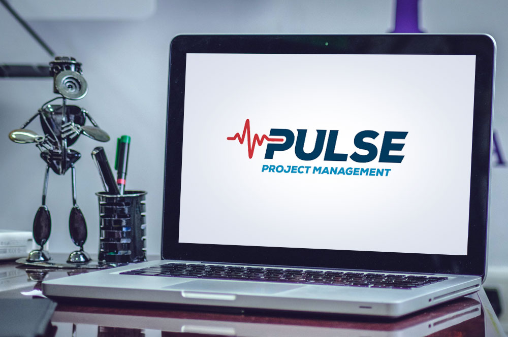 Pulse Project Management Logo Design