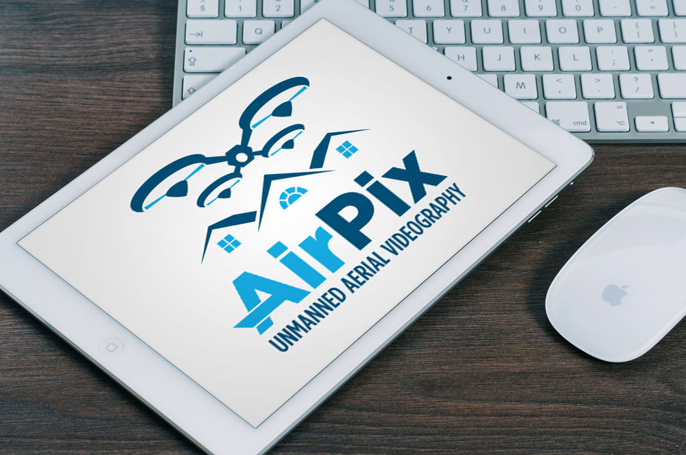 AirPix Logo Design
