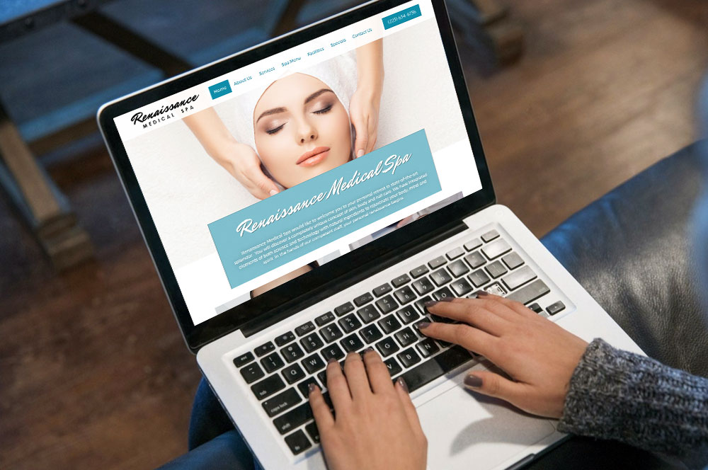 renaissance spa website development